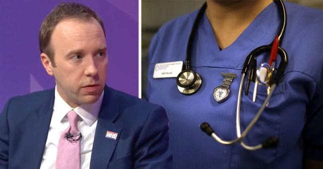 Retired medics asked to return to NHS Matt Hancock