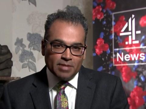 Krishnan Guru-Murthy hosts Channel 4 News from home as he self-isolates amid coronavirus