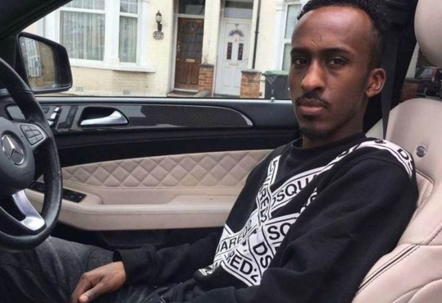 Undated handout photo issued by the Metropolitan Police of Abdullahi Mahmoud, 29, from Enfield, north London, as detectives are confident he is the victim of a street shooting who died in hospital. PA Photo. Issue date: Friday March 20, 2020. Scotland Yard said police were called to a report of a shooting in Hertford Road in Enfield shortly after 4.30pm on Thursday. See PA story POLICE Enfield. Photo credit should read: Metropolitan Police/PA Wire NOTE TO EDITORS: This handout photo may only be used in for editorial reporting purposes for the contemporaneous illustration of events, things or the people in the image or facts mentioned in the caption. Reuse of the picture may require further permission from the copyright holder.