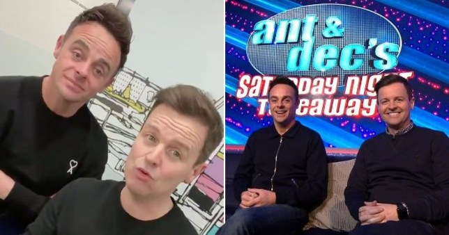 Ant & Dec want viewer participation as Saturday Night Takeaway films without audience