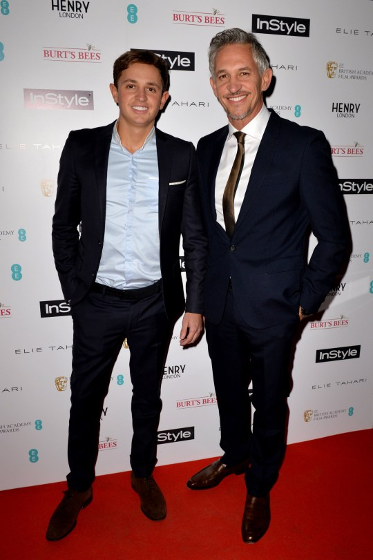 File photo dated 04-02-2016 of Gary Lineker with his son George. PA Photo. Issue date: Monday March 23, 2020. See PA story SPORT Coronavirus Lineker. Photo credit should read Anthony Devlin/PA Wire.