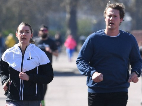 'Don't wear masks while jogging': Dr. Hilary Jones warns running with a face covering is 'not a good idea'