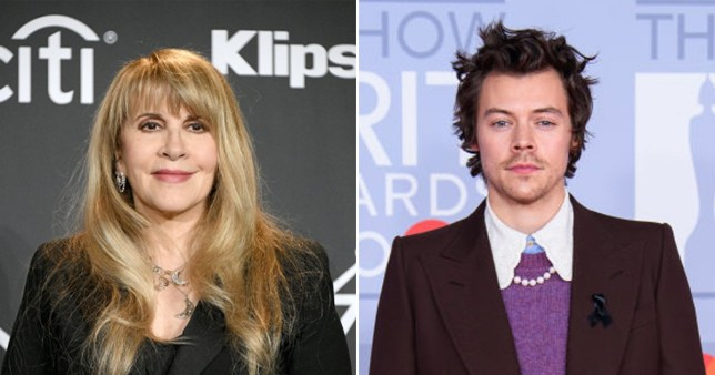 Stevie Nicks inspired by Harry Styles to create new music in isolation pics: Getty