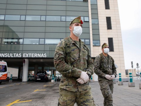 Spanish coronavirus patients 'escape' hospitals before being given all clear