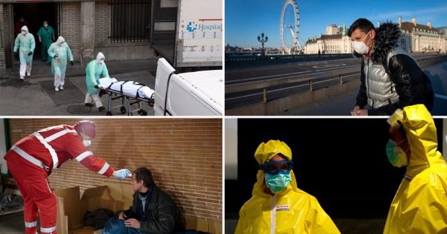 Global coronavirus deaths pass 20,000