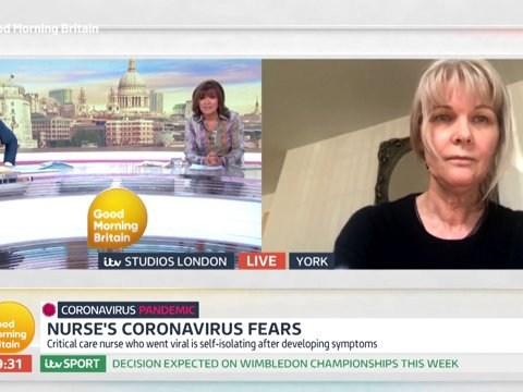 Nurse left in tears over panic buying reveals she has coronavirus symptoms