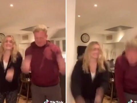 Gordon Ramsay unfazed by backlash as he dances on TikTok with daughter amid lay-offs