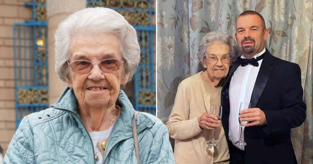 Woman, 86, has survived Hitler, open heart surgery, two replacement knees and now coronavirus Pictures: Richard Briley/Facebook/BPM
