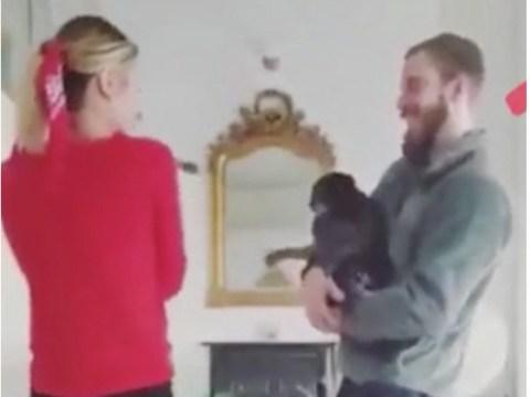 PewDiePie and wife Marzia Kjellberg all smiles during coronavirus lockdown as they hang out with sweet pups