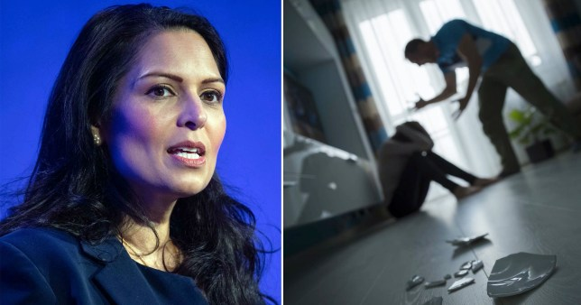 Patel pledges to support domestic violence victims trapped with abusers in quarantine