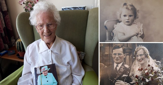 One of Britain?s oldest people has celebrated her 110th birthday in lockdown but said she has ?loved every moment? of her long life (Picture: SWNS)