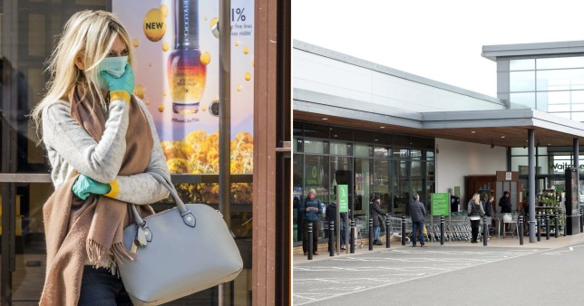 Couples banned from shopping in Waitrose together