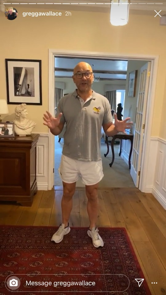 gregg wallace workout