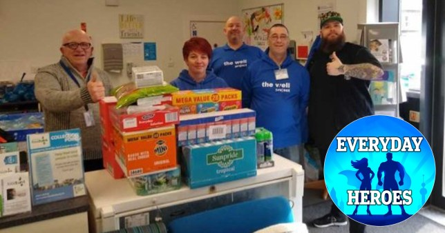 I?ve been stockpiling food? so I can donate it to food bankseveryday heroesjon crowder