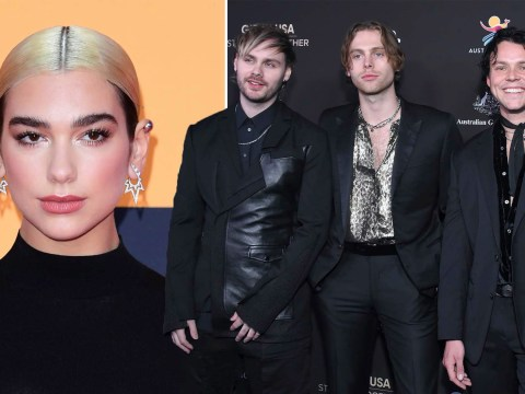 Dua Lipa to go head to head with 5 Seconds of Summer for Number 1 album
