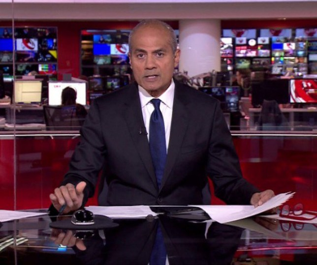 George Alagiah BBC News at 6