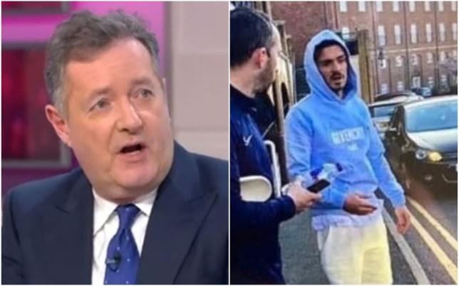 Piers Morgan tore into Jack Grealish on ITV's Good Morning Britain