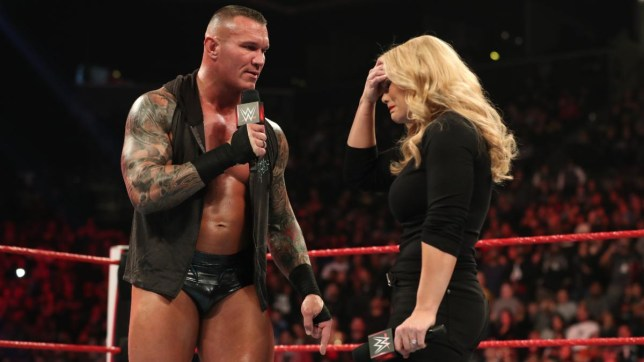 WWE superstar Randy Orton and Hall of Fame star Beth Phoenix clash on Raw