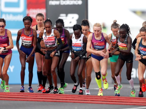 What was the original date of the London Marathon and has it been rescheduled?