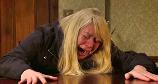 Sharon in EastEnders
