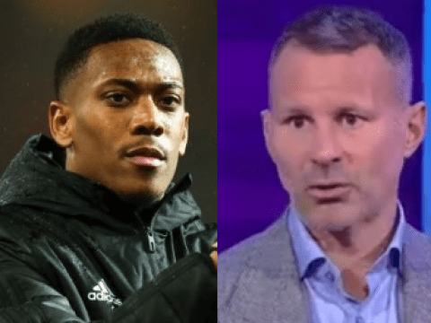 Ryan Giggs criticises Anthony Martial after Man Utd's win against Man City
