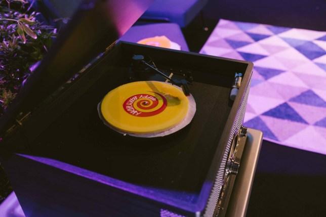 lush soap record that plays happy birthday twice