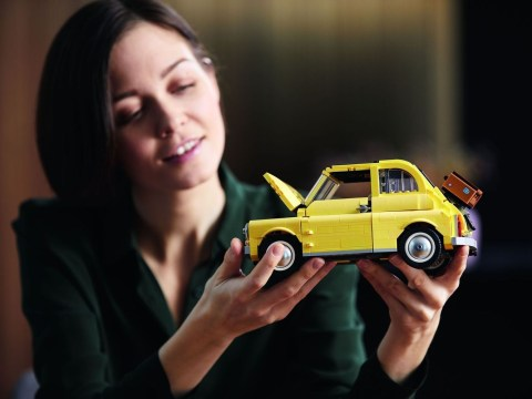 Lego has made a life-size Fiat 500 out of 189,032 bricks (plus a smaller one you can buy)
