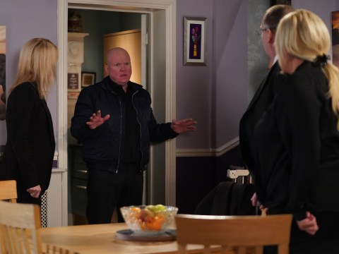 EastEnders spoilers: Sharon Mitchell confronts Phil as he returns on the day of Dennis Rickman's funeral
