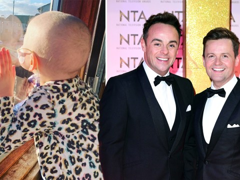 Ant and Dec urge everybody to stay at home after being asked to do so by four-year-old Mila who has leukaemia