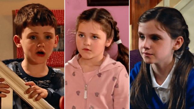 April in Emmerdale and Hope and Joseph in Coronation Street