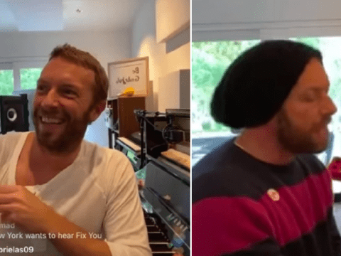 Coldplay's Chris Martin performs free concert at home as he refuses to let coronavirus win