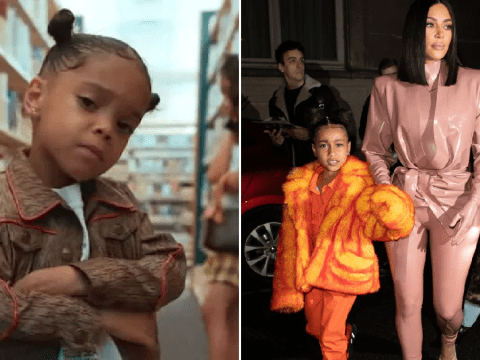 ZaZa wants North West collaboration after Kim Kardashian's daughter smashes rap debut