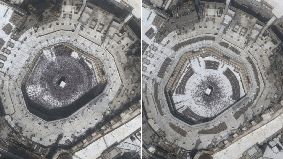 Islamic Holy Site Of Mecca Is Deserted As A Result Of Coronavirus Metro News