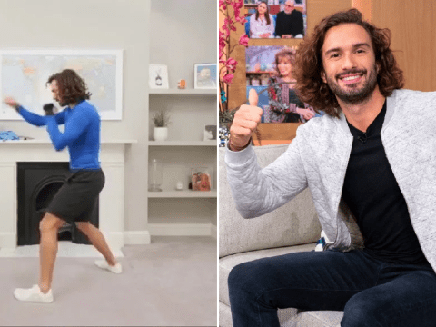 Over 800k people tune in for Joe Wicks' tough first YouTube Live PE session