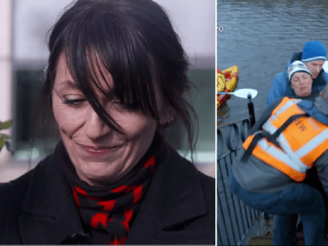 Davina McCall tears up watching father amid Alzheimer's battle as she recalls Sport Relief ordeal