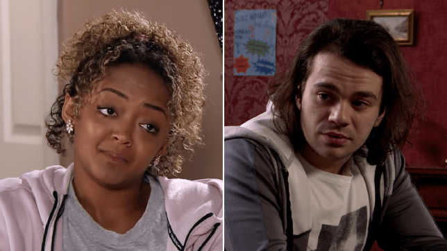 Emma and Seb in Coronation Street