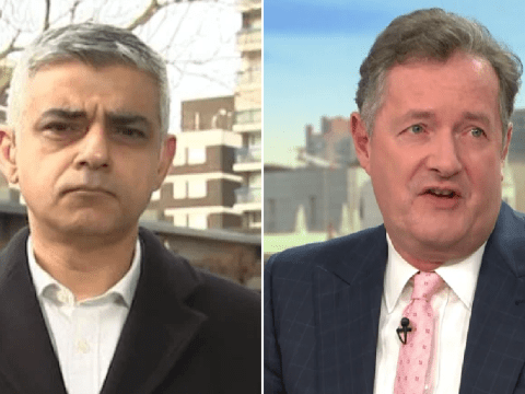 Piers Morgan confronts Sadiq Khan over 'mixed messages' of using public transport amid coronavirus outbreak