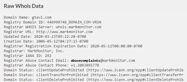 Grand Theft Auto 6 domain information