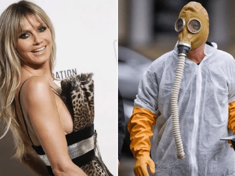 Heidi Klum leaves America's Got Talent auditions as she 'falls ill' – as Howie Mandel turns up in a hazmat suit
