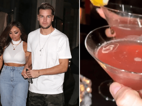 Little Mix's Jesy Nelson and Chris Hughes cheers to 'getting rid of coronavirus' on date night