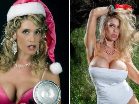 Woman spends thousands on breast implants after abusive husband kept 'twisting' and damaging them