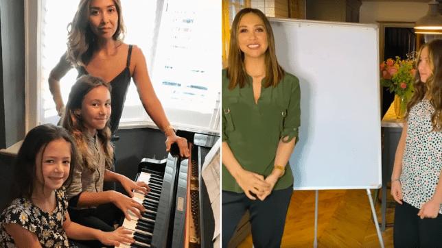 Myleene Klass music lessons