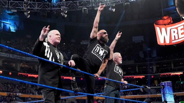 WWE Hall of Famers nWo members Scott Hall, Sean Waltman and Kevin Nash return on Friday Night SmackDown