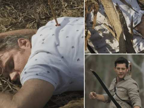 Neighbours spoilers: Gary Canning dies after being shot with bow and arrow by murderous Finn Kelly