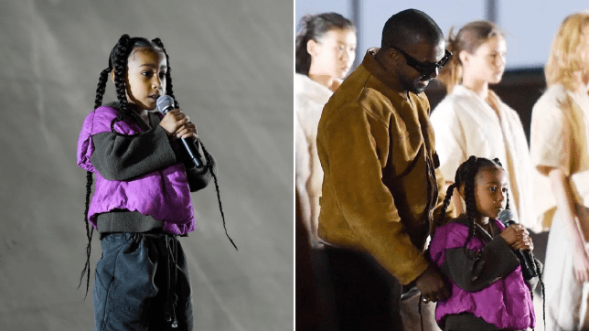 North West on stage