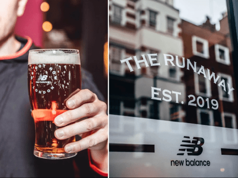 Pub opens where you pay for pints with the amount of miles you have run