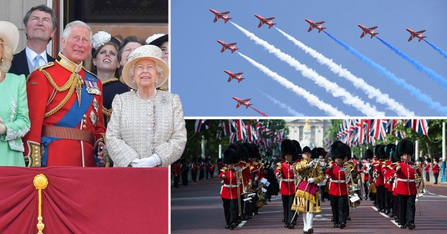Trooping the Colour will not go ahead in its traditional form