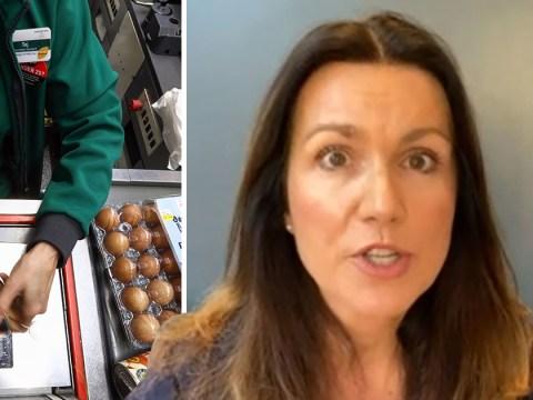 Coronavirus UK: Susanna Reid exposes online shopping horror in heartfelt plea to supermarket workers