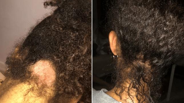 Tayshan hair comp