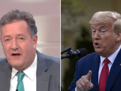 Piers Morgan slams President Donald Trump for bragging his coronavirus ratings 'bigger ratings hit than The Bachelor' as US death rates 'go through the roof'